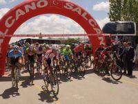Uluslararası Bisikletçiler Çubuk'tan Geçti