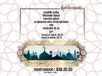 Ramazan'ın Keyfini Kahvecizade'de Çıkarın