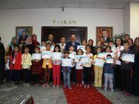 Başkan Acehan, Şampiyon Sporcuları Kabul Etti