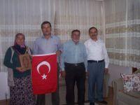 Çubuk'ta Şehit Aileleri ve Gaziler Kutsal Topraklara Uğurlandı