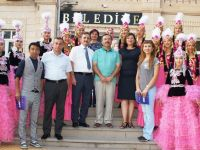 Kırgızistan heyetinden Başkan Acehan'a ziyaret