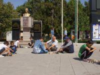 Çubuk'ta Sokakta Satranç Etkinliği