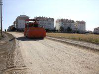 Çubuk'ta yol bakım ve onarım çalışması