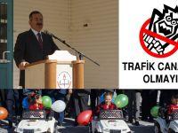 Çubuk'ta Çocuk Trafik Eğitim Parkı Açıldı