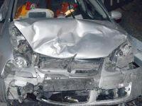 Çubuk'ta 2 otomobil çarpıştı: 5 yaralı