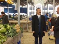 Çubuk Belediye Başkanı Acehan'dan pazar denetimi