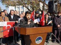ABD'nin Kudüs kararı Çubuk'ta protesto edildi