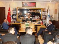 MHP ilçe teşkilatından Belediye Başkanı Acehan'a ziyaret
