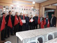 Yıldırım Beyazıt Dernekler Federasyonundan Avan'a ziyaret