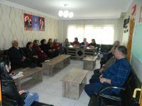 CHP ÇUBUK İLÇE KADIN KOLLARI'NDAN İYİ PARTİ'YE ZİYARET....