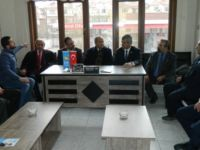 CHP İLÇE'DEN İYİ PARTİ'YE ZİYARET...