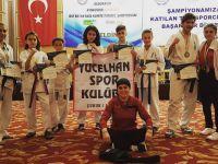 Türkiye Şampiyonası'nda 1 altın, 1 gümüş ve 3 bronz madalya