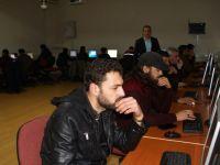 Çubuk'ta Suriyeli Sığınmacılara Bilgisayar Kursu Açıldı