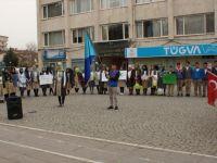 Çubuk'ta Öğrenciler 'Bağımlılığa' Karşı Yürüdü