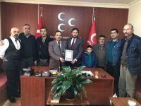 Terör Mağdurlarından MHP'ye Ziyaret