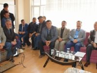 Başkan Acehan'dan Muhtarlar Derneğine Ziyaret