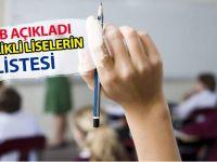 LGS Sınavıyla Ankara'da Öğrenci Alacak Nitelikli Liselerin (Okullar) Listesi Yayınlandı