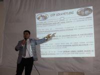 Çubuk'ta Öğrencilere Çevre Bilinci Eğitimi