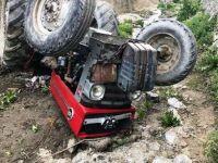 Çubuk'ta devrilen traktörün sürücüsü öldü