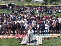 Akyurt İlçesinde çiftçiler yağmur duasına çıktı.
