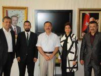 Milletvekili Aday Adaylarından Çubuk Belediye Başkanı Acehan'a Ziyaret