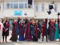 Çubuk Eğitim Uygulama Okulunda Mezuniyet Sevinci