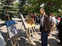 Başkentte Küçük Ressamlardan Karma Resim Sergisi