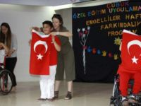 Çubuk'ta Özel Çocuklardan Özel Performans