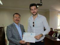 Çubuk'ta KOSGEB Girişimcilik Sertifikaları Dağıtıldı