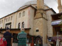 Cami Minaresine Yıldırım İsabet Etti