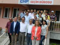 CHP'Lİ VEKİLLERDEN CHP ÇUBUK İLÇE'YE ZİYARET...