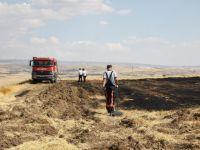 Çubuk'ta tarım arazisi yandı