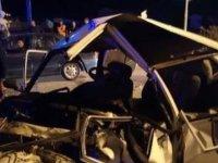 Zincirleme Trafik Kazası 1 Ölü, 2 Yaralı
