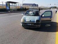Çubuk'ta Otomobil Yayaya Çarptı