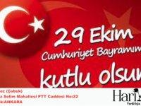 İşadamı Burak Gündoğdu'dan 29 Ekim Cumhuriyet Bayramı Kutlama Mesajı