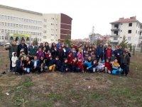 Çubuk'ta Genç Sporcular Şehit Ve Gaziler İçin Fidan Dikti