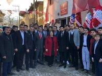 BBP Çubuk İlçe Teşkilatından Filiz Ulusoy'a Destek