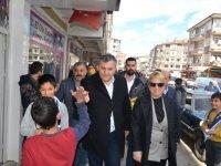 """Çubuk'ta Cumhur İttifakı'ndan """"Sevgi Yürüyüşü"""""""