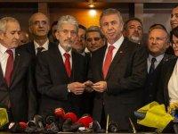 Mansur Yavaş Ankara'da görevi devraldı
