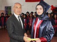Çubuk'ta mezuniyet töreni