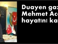 Duayen gazeteci Mehmet Acar hayatını kaybetti