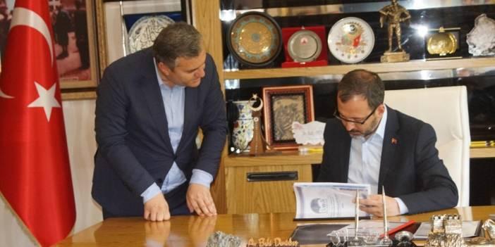 Bakan Kasapoğlu'ndan Çubuk'a ziyaret