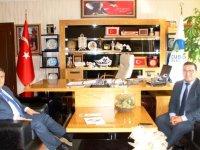 Şabanözü Kaymakamı Altay'dan Başkan Demirbaş'a ziyaret