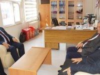 Demirbaş'tan Lösemi Hastası Mehmet'in Öğretmenine Teşekkür Ziyareti