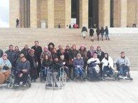 Engelli Çocuklar, Ebeveynleriyle Başkenti Tanıyor