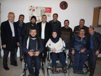 Çubuk Belediye Başkanı Demirbaş'tan Engelliler Derneğine Ziyaret