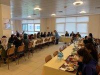 Başkan Demirbaş üniversite öğrencileriyle kahvaltıda buluştu