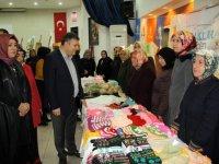 Çubuk'ta Hanımeli Çarşısı Açıldı