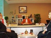 Kaymakam Keleş ve Başkan Demirbaş, Esenboğa Havalimanını ziyaret etti