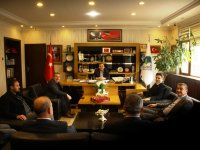 AASKF Başkanı Kandazoğlu'ndan Çubuk Belediye Başkanı Demirbaş'a ziyaret